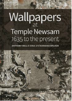 Front cover for the Wallpapers at Temple Newsam book
